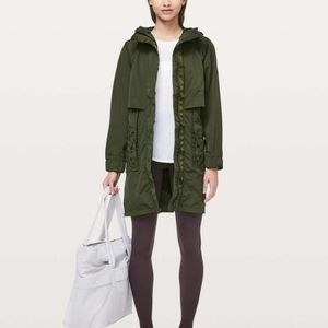 Lululemon Graced with Lace Long Jacket New